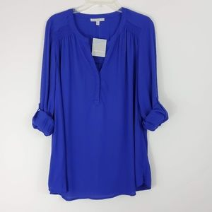 Stitch Fix Pale Sky Daniel Rainn Blue Blouse